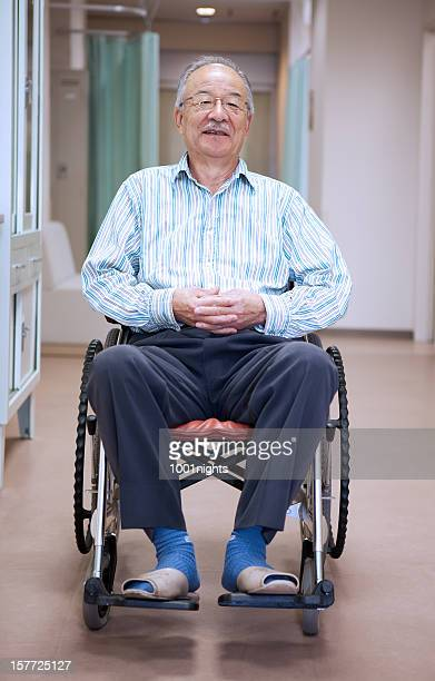 患者には、車椅子
