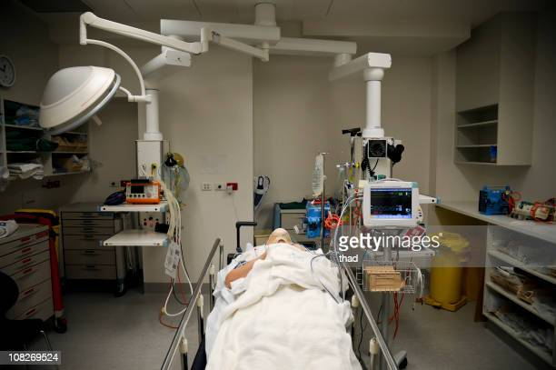 Patient in hospital emergency department