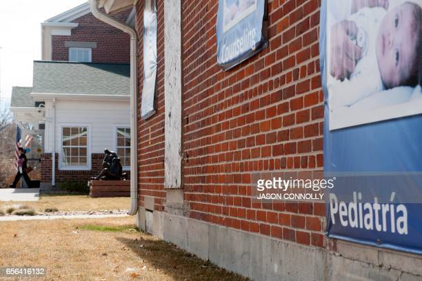 A patient leaves Inner City Health Center in Denver Colorado after a visit on March 15 2017 Inner City Health Center was founded in 1983 and offers...