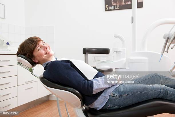 Patient waiting in dental surgery