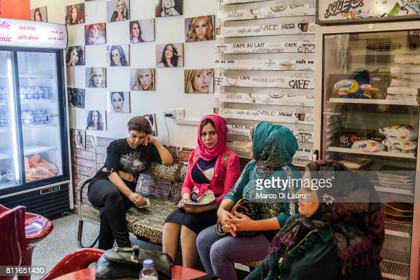 """April 20: Patients are seen at the Barbie Clinic on April 20, 2015 in Baghdad, Iraq. """"nThe Barbie Clinic was open in 2014 by Doctor Rafeef..."""