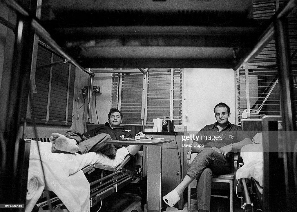 Jan 27 1973 Jan 28 1973 Patients At Fitzsimons General Hospital