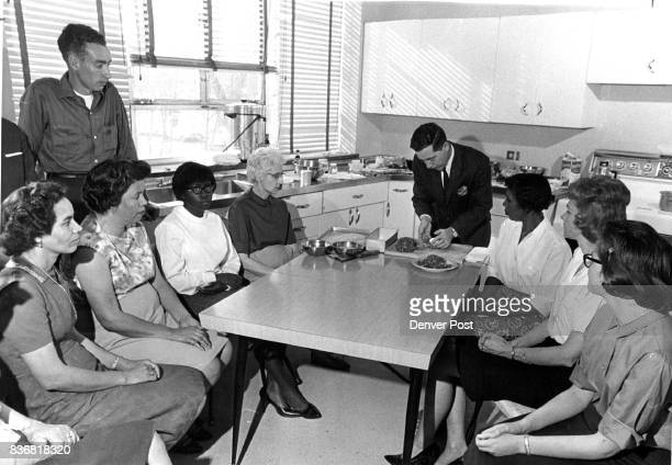Patients attending the school which also helps them cook on budgets when they return home include clockwise from Wolfe Addie Norris Bonnie Miller...