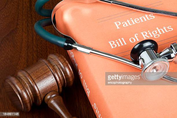 patients' bill of rights - bill of rights stock photos and pictures