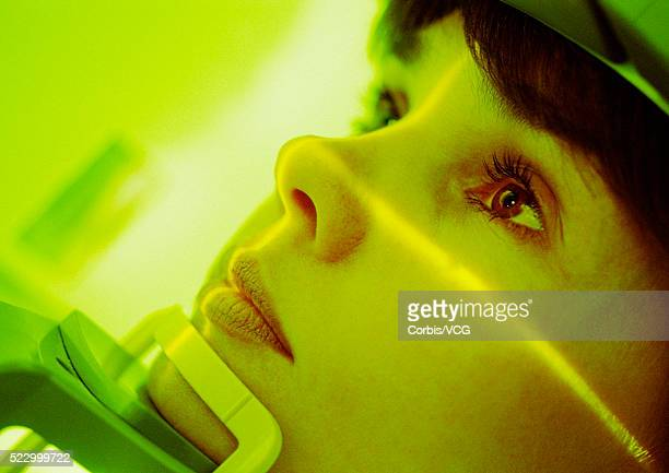 Patient's Face Being Scanned