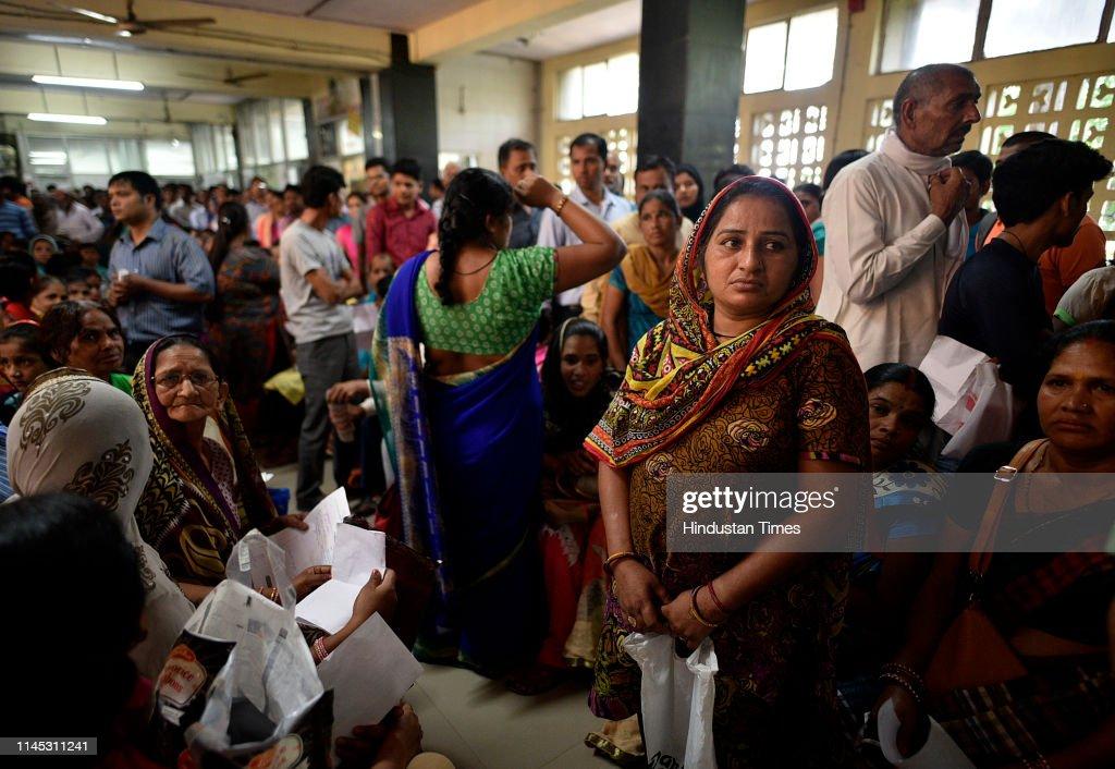 IND: Doctors Strike At Hindu Rao Hospital In Delhi