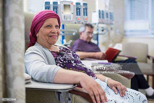 Patients in infusion room