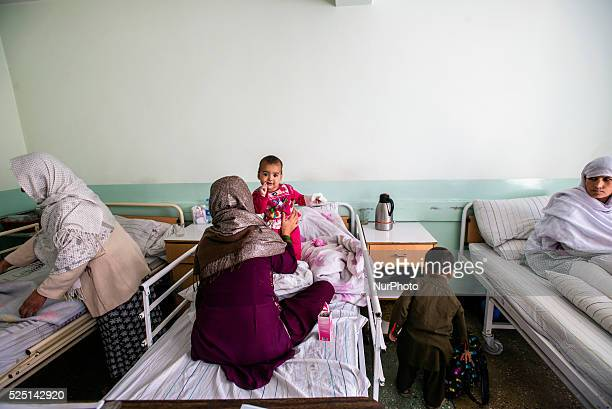 Patients in obstetric ward in Central Hospital of Afghan Red Crescent Society, Kabul, Afghanistan