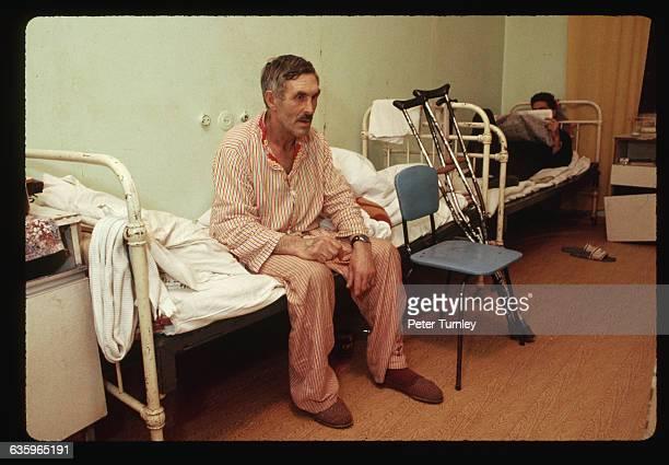 Patients in Russian Mental Hospital