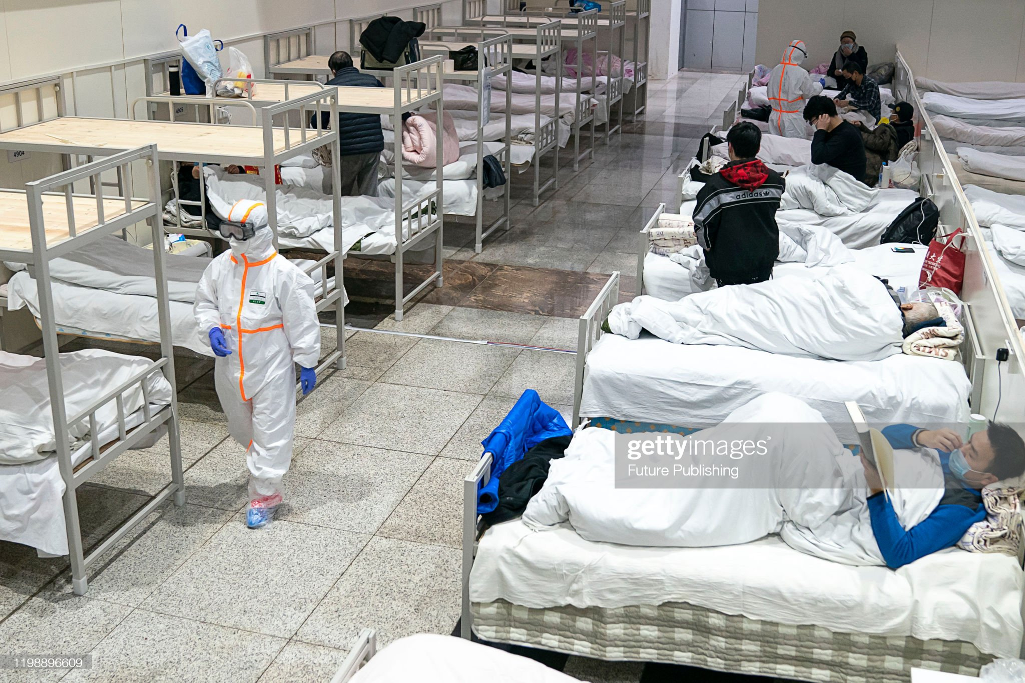 CHINA WUHAN MORE TEMPORARY HOSPITAL IN USE : News Photo