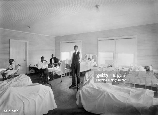 Patients recovering from Effects of Race Riot of June 1st,, American Red Cross Hospital, Tulsa, Oklahoma, USA, American National Red Cross Photograph...