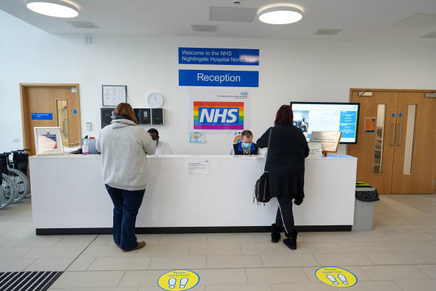 GBR: Vaccination Centre Opened At NHS Nightingale Hospital North East