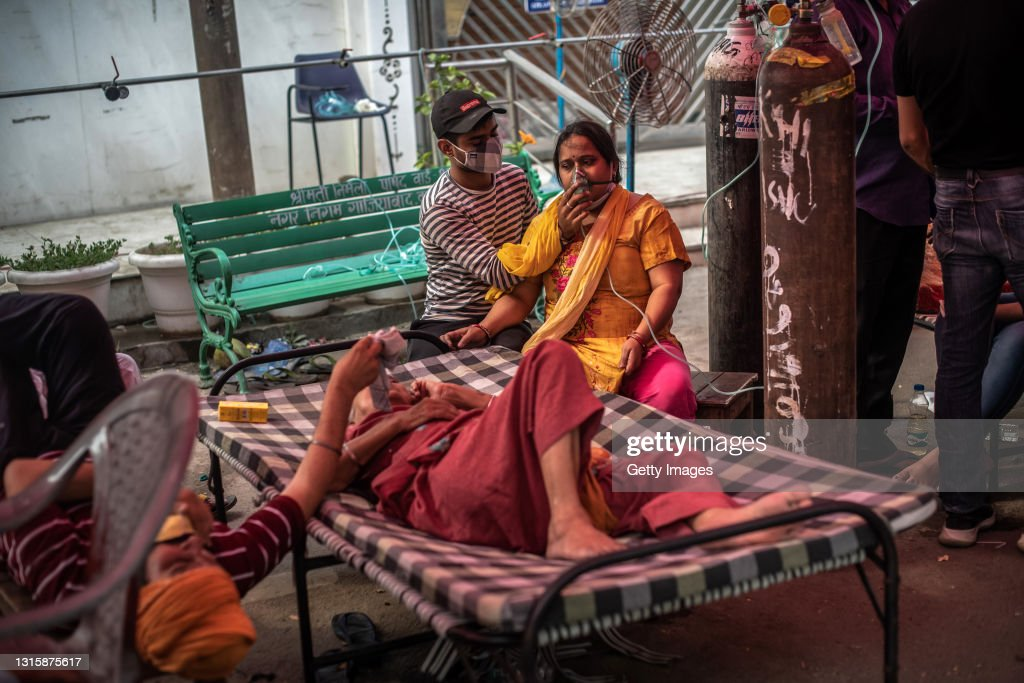 India's Covid-19 Crisis Intensifes : News Photo