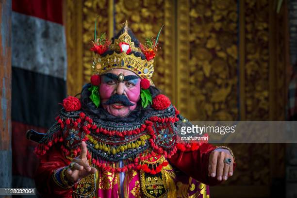 patih, a character in barongan dance from bali, indonesia. - shaifulzamri 個照片及圖片檔