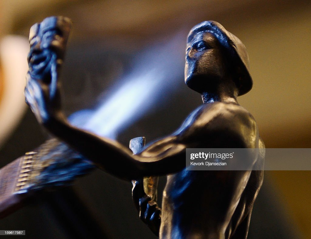 19th Annual SAG Awards Casting Of The Actor, The Screen Actors Guild Awards Statuette