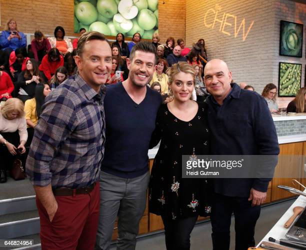 THE CHEW Patina Miller and Jesse Palmer are guestson ABC's 'The Chew' Thursday March 2 2017 'The Chew' airs MONDAY FRIDAY on the ABC Television...