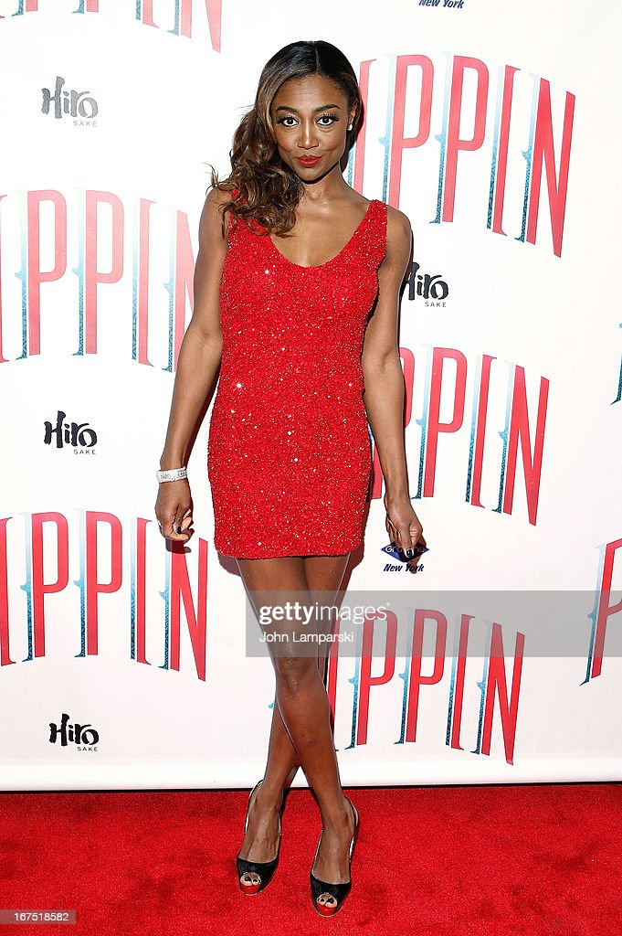 Patina Miller attends the after party for the Broadway opening night of 'Pippin' at Slate on April 25, 2013 in New York City.