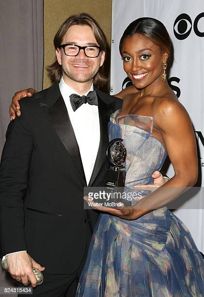 Patina Miller David Mars at the press room for the 67th Annual Tony Awards held in New York City on June 9 2013