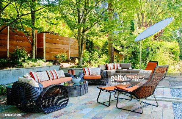 patio living room - patio stock pictures, royalty-free photos & images