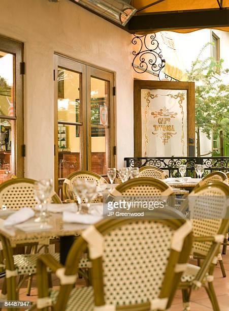 patio of restaurant