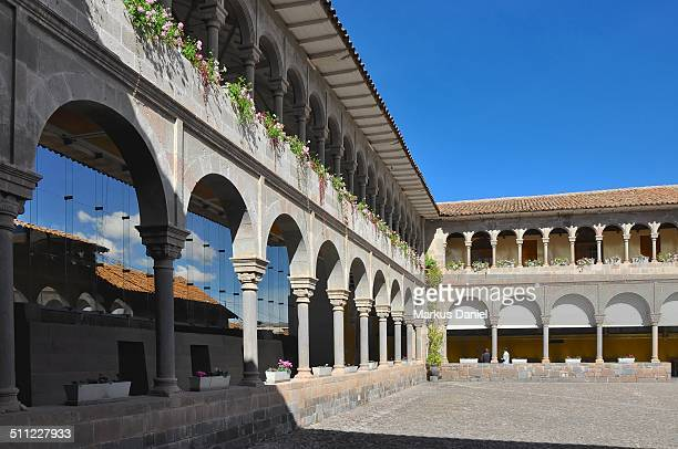 Patio of the Coricancha in Cusco