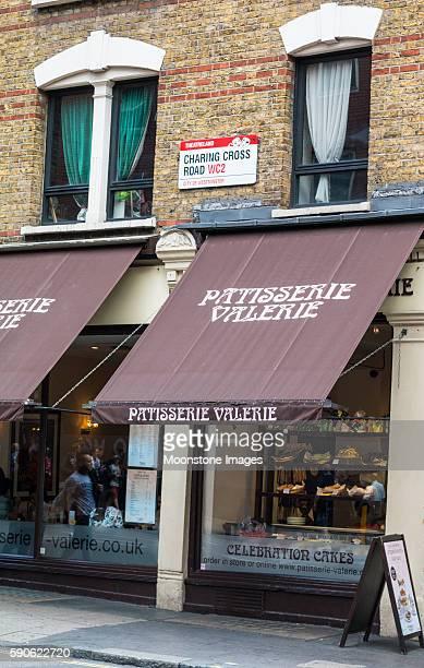 Patisserie Valerie in Charing Cross Road, London