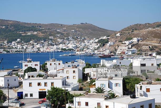 Patmos island harbour -Skala-