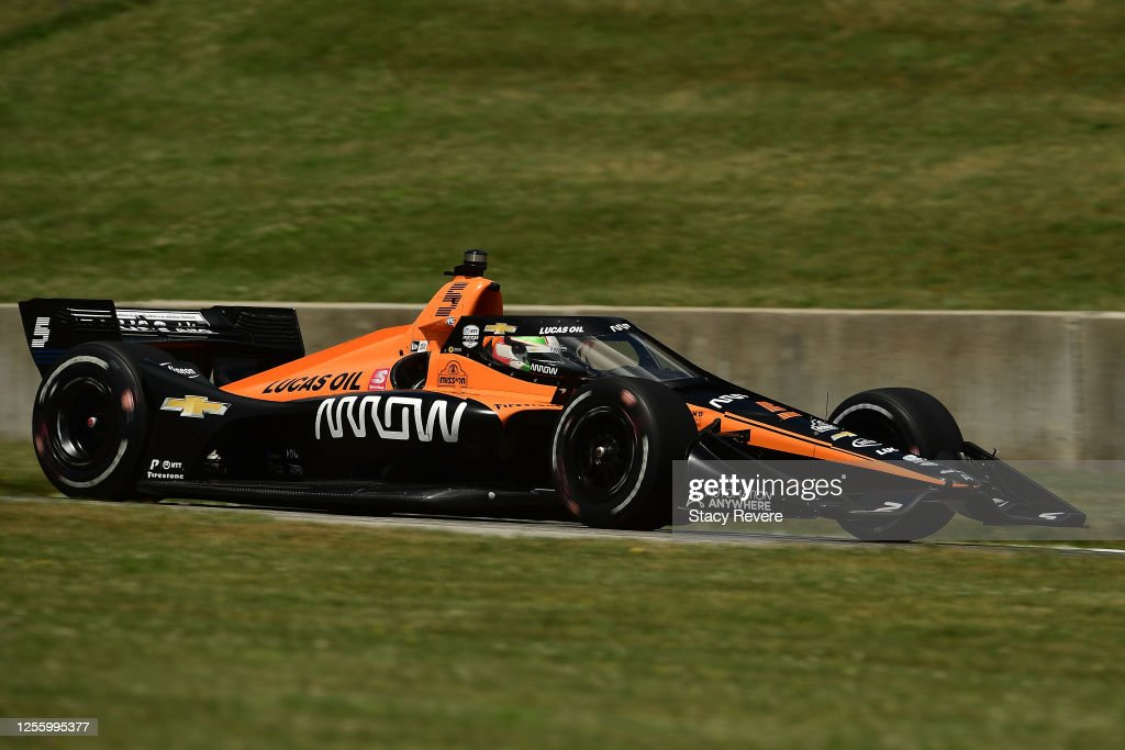 IndyCar Series - Road America : News Photo