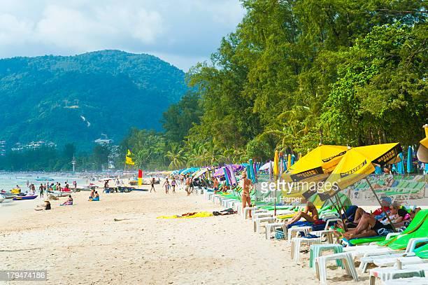 Patong Beach Et Thailand