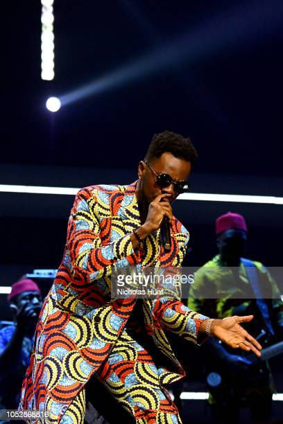 Patoranking performs onstage during the 4th Annual TIDAL X Brooklyn at Barclays Center of Brooklyn on October 23 2018 in New York City