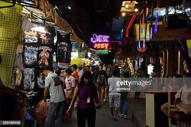 Patpong night market in Bangkok, Thailand