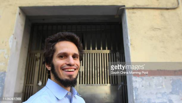 Patri Friedman, grandson of revered American economist Milton Friedman, poses for picture after he delivered a talk about his plan to build mini...