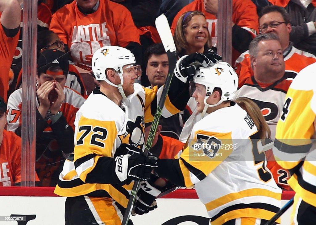 Pittsburgh Penguins v Philadelphia Flyers - Game Six : News Photo
