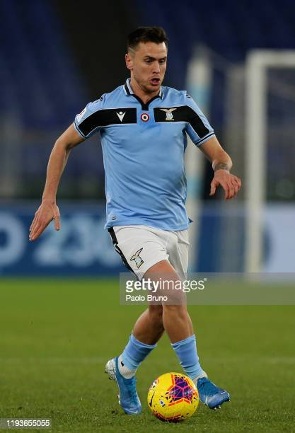 Patric of SS Lazio in action during the Coppa Italia match between SS Lazio and US Cremonese at Olimpico Stadium on January 14, 2020 in Rome, Italy.
