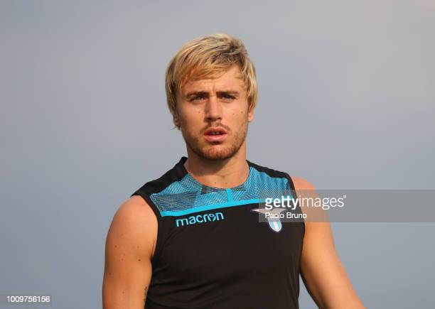Patric of SS Lazio in action during the SS Lazio training session on August 2 2018 in Rome Italy