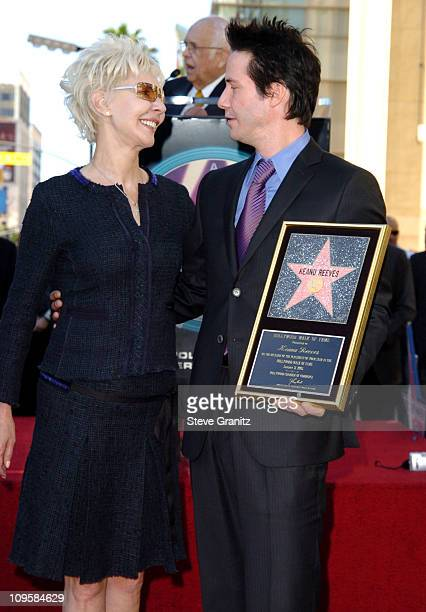 Patric Reeves and Keanu Reeves during Keanu Reeves Honored with a Star on the Hollywood Walk of Fame for His Achievements in Film at Hollywood Blvd...