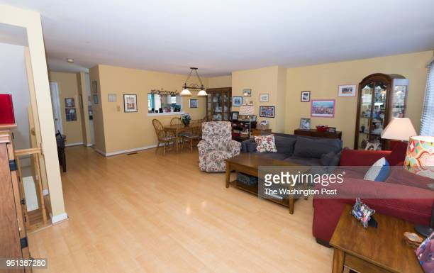 Patrica and Don Potter have their room photographed for a redesign on Saturday January 27 2018 in Alexandria VA