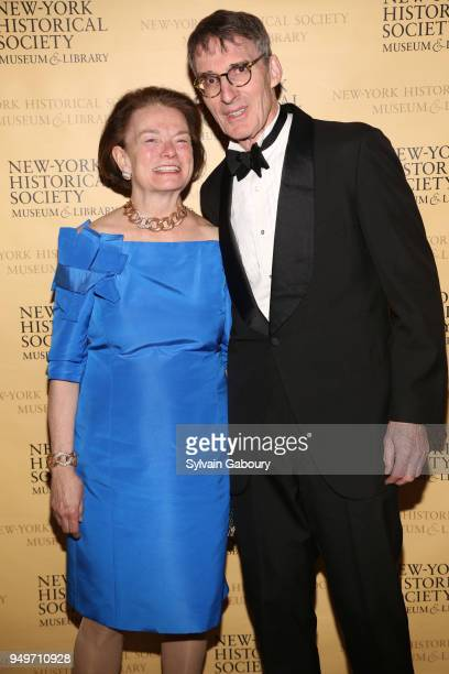 Patrica Kavanagh and James Grant attend NewYork Historical Society Weekend with History at NewYork Historical Society on April 13 2018 in New York...
