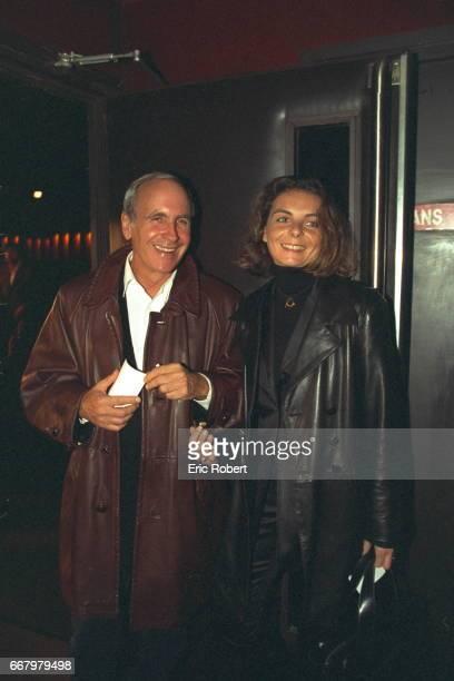 Patrice and Valerie Laffont at the Theatre de l'Empire.