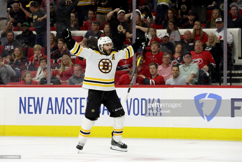 Boston Bruins v Carolina Hurricanes - Game Four : News Photo