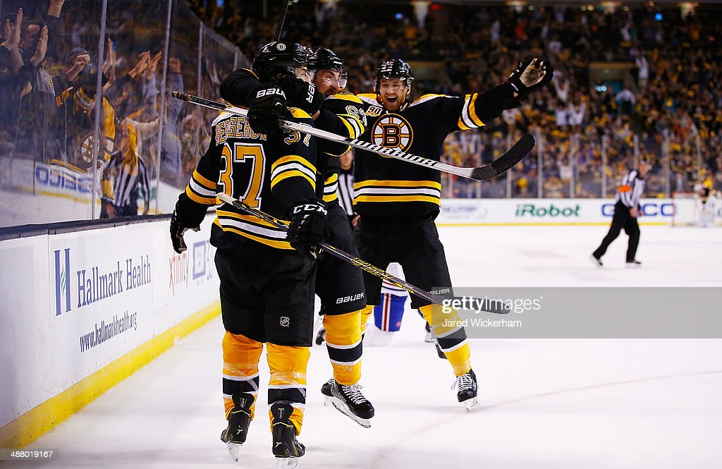 Montreal Canadiens v Boston Bruins - Game Two : News Photo