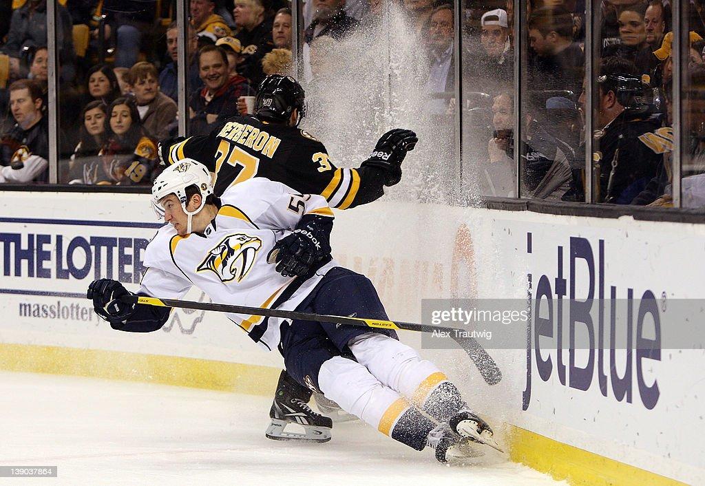 Nashville Predators v Boston Bruins : News Photo