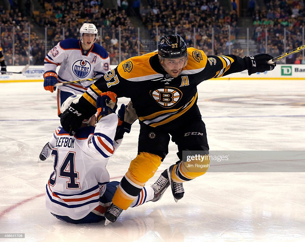 Edmonton Oilers v Boston Bruins : News Photo
