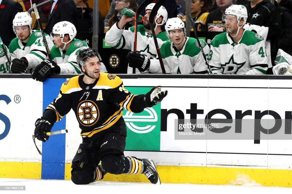 Dallas Stars v Boston Bruins : News Photo