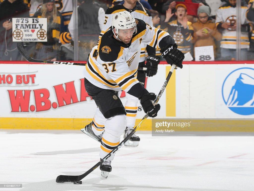 NJ: Boston Bruins v New Jersey Devils