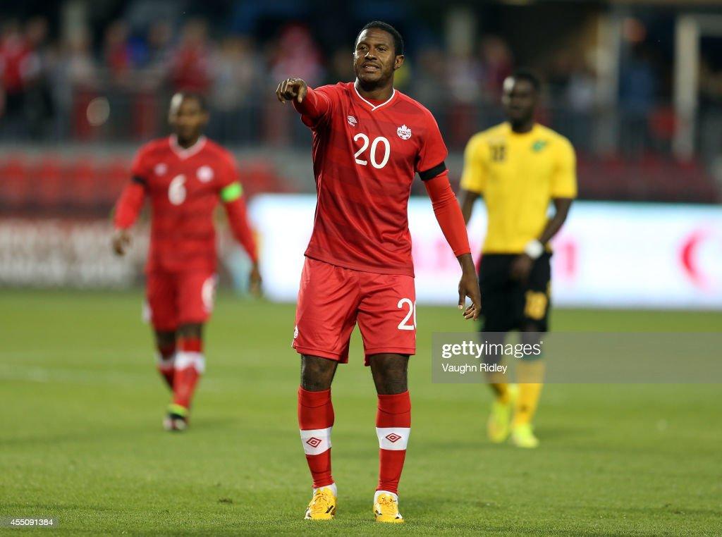 Jamaica v Canada : News Photo