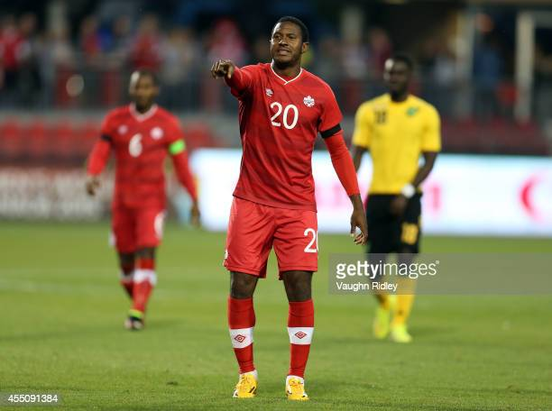 Patrice Bernier of Canada during the International Friendly match between Canada and Jamaica at BMO Field on September 09 2014 in Toronto Ontario...