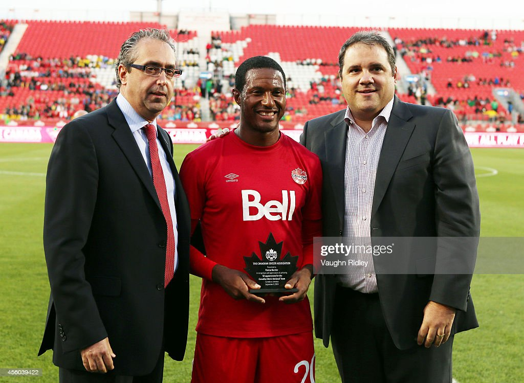 Jamaica v Canada : News Photo