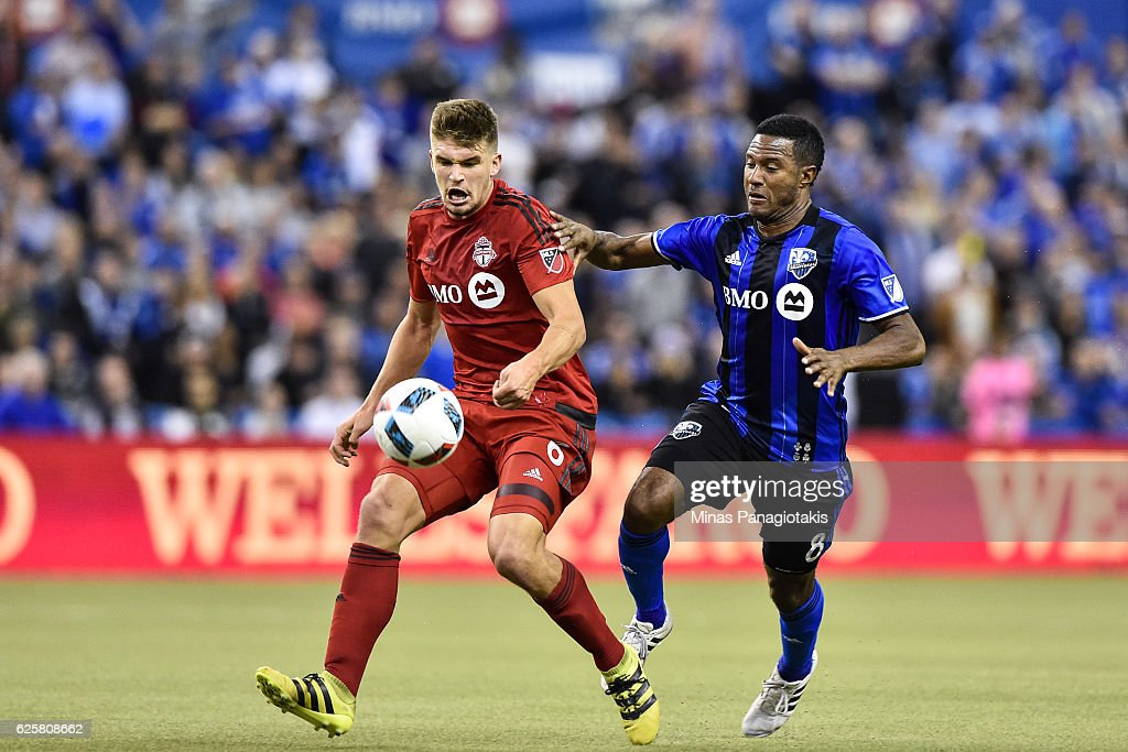 Toronto FC v Montreal Impact - Eastern Conference Finals - Leg 1 : News Photo
