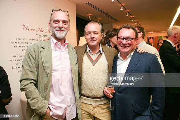 Patrice Dangel Adrienne Dannatt and Paul Kasmin attend HIGH TEA FOR THE PREMIERE OF GALERIE MARK HOSTED BY ALEXICO GROUP JACQUES GRANGE PIERRE...